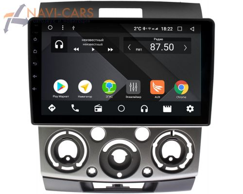Ford Ranger II 2006-2012 OEM PX9139-4/32 на Android 10 (PX6, IPS, 4/32GB)