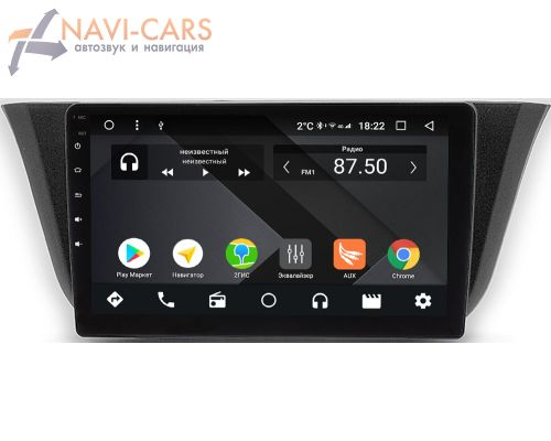Iveco Daily (2014-2021) OEM PX9-744-4/32 на Android 10 (PX6, IPS, 4/32GB)