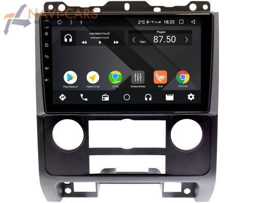 Ford Escape II 2007-2012 (черная) OEM PX9279-4/32 на Android 10 (PX6, IPS, 4/32GB)