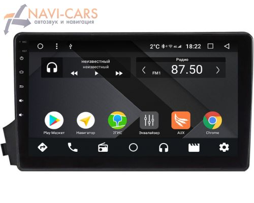SsangYong Kyron, Korando Sports, Actyon, Actyon Sports I 2006-2018 OEM PX9-770-4/32 на Android 10 (PX6, IPS, 4/32GB)