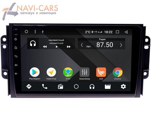 Chery Tiggo 3 2014-2021 OEM PX9075-4/32 на Android 10 (PX6, IPS, 4/32GB)