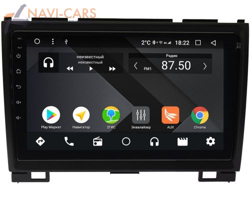 Great Wall Hover H3, Hover H5 2010-2018 Wide Media CF9140PM-4/64 на Android 9.1 (TS9, DSP, 4G SIM, 4/64GB)