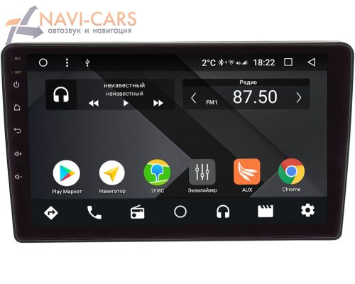 Ford Kuga, Fiesta, Fusion, Focus, Mondeo OEM PX9159-4/32 на Android 10 (PX6, IPS, 4/32GB)