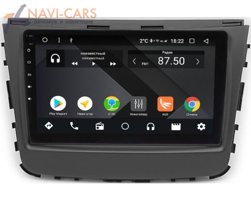 SsangYong Rexton IV 2017-2021 OEM PX9-789-4/32 на Android 10 (PX6, IPS, 4/32GB)