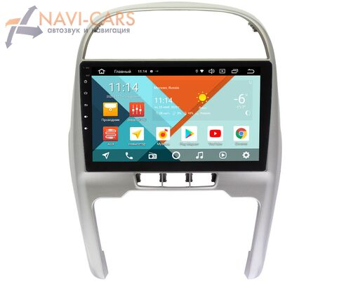 Chery Tiggo (T11) 2011-2016 Wide Media KS10-1124QR-3/32 DSP CarPlay 4G-SIM на Android 10 (API 29)