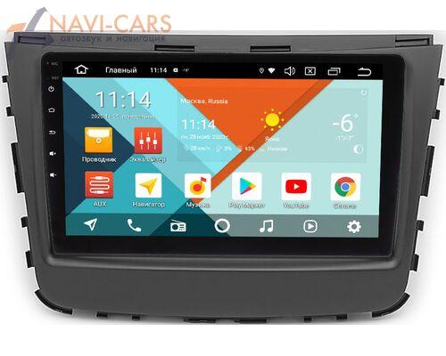 SsangYong Rexton IV 2017-2021 Wide Media KS9-789QR-3/32 DSP CarPlay 4G-SIM на Android 10 (API 29)