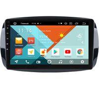 Smart Fortwo III, Forfour II 2014-2021 Wide Media KS9-019QR-3/32 DSP CarPlay 4G-SIM Android 10 (API 29)