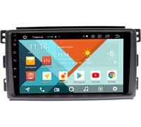 Smart Forfour 2004-2006, Fortwo II 2007-2011 (9 дюймов) Wide Media KS9289QR-3/32 DSP CarPlay 4G-SIM Android 10