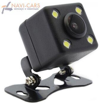 Универсальная камера переднего/заднего вида кубик со светодиодной (LED) подсветкой 170 градусов с отключаемой разметкой