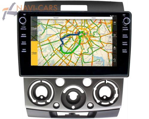 Ford Ranger II 2006-2012 LeTrun 3150-9139 на Android 10 (DSP 2/16 с крутилками)