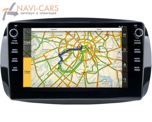 Smart Fortwo III, Forfour II 2014-2021 LeTrun 3150-9-019 на Android 10 (DSP 2/16 с крутилками)