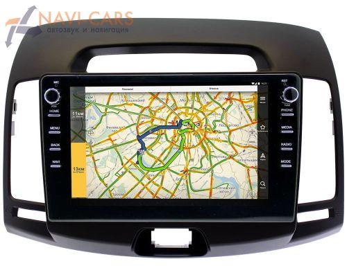 Hyundai Elantra IV (HD) 2006-2011 (темно-серая) LeTrun 3150-9077 Android 10 (DSP 2/16 с крутилками)
