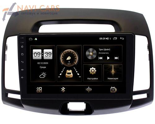 Hyundai Elantra IV (HD) 2006-2011 (темно-серая) LeTrun 3792-9077 на Android 10 (4/64, DSP, QLed) С оптическим выходом