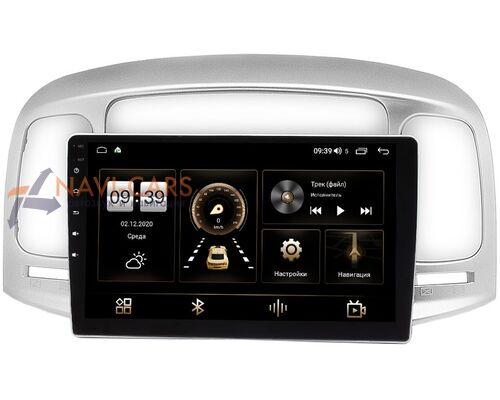 Hyundai Accent III, Verna II 2005-2010 LeTrun 4166-9-069 на Android 10 (4G-SIM, 3/32, DSP, QLed)