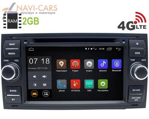 Ford Focus, C-Max, S-Max, Fiesta, Fusion, Mondeo, Transit, Kuga LeTrun 2606 Android 8.1 7 дюймов (4G LTE 2GB)