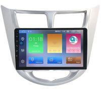 Hyundai Solaris I 2011-2017 LeTrun 1915-2908 на Android 9.1 MTK-L 2Gb/32Gb