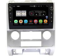 Ford Escape II 2007-2012 (серая) LeTrun BPX409-9278 на Android 10 (4/32, DSP, IPS, с голосовым ассистентом, с крутилками)