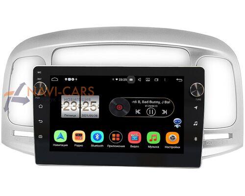 Hyundai Accent III, Verna II 2005-2010 LeTrun BPX409-9-069 на Android 10 (4/32, DSP, IPS, с голосовым ассистентом, с крутилками)
