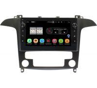 Ford S-MAX 2006-2015 (с климат-контролем) LeTrun BPX409-9486 на Android 10 (4/32, DSP, IPS, с голосовым ассистентом, с крутилками)