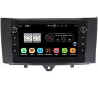 Smart Fortwo II 2011-2015 LeTrun BPX409-9251 на Android 10 (4/32, DSP, IPS, с голосовым ассистентом, с крутилками)