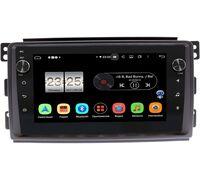 Smart Forfour 2004-2006, Fortwo II 2007-2011 LeTrun BPX409-9289 на Android 10 (4/32, DSP, IPS, с голосовым ассистентом, с крутилками)