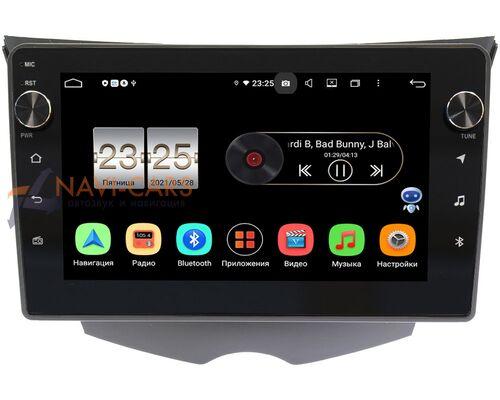 Hyundai Veloster I 2011-2017 LeTrun BPX409-9-319 на Android 10 (4/32, DSP, IPS, с голосовым ассистентом, с крутилками)