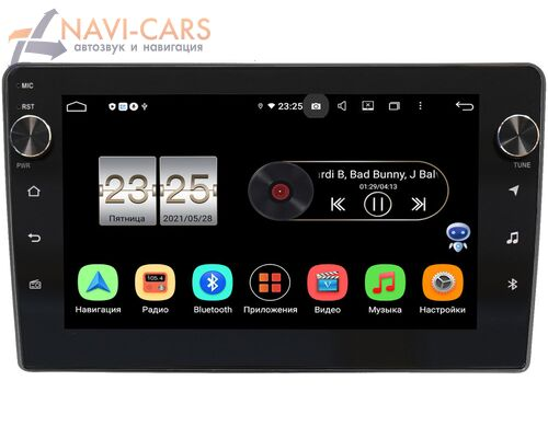 Hyundai Grandeur IV 2005-2011 LeTrun BPX409-9-263 на Android 10 (4/32, DSP, IPS, с голосовым ассистентом, с крутилками)