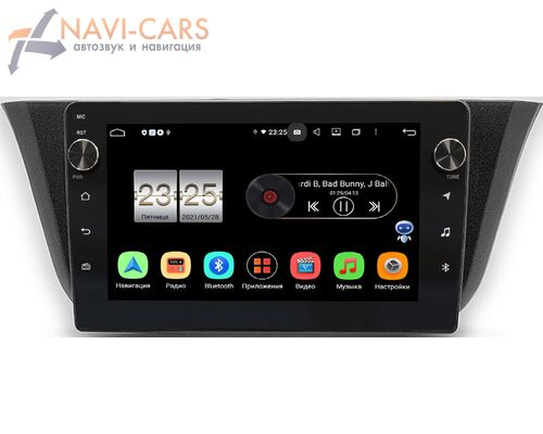 Iveco Daily (2014-2021) LeTrun BPX409-9-744 на Android 10 (4/32, DSP, IPS, с голосовым ассистентом, с крутилками)