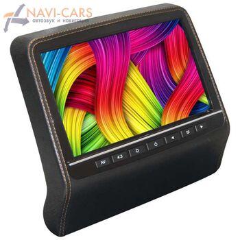 """Навесной монитор на подголовник 9"""" LeTrun 2002 DVD-SD-USB (черный)"""