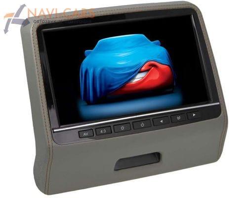 """Навесной монитор на подголовник 9"""" LeTrun 2003 DVD-SD-USB (серый)"""