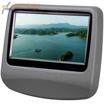 """Навесной монитор на подголовник 9"""" LeTrun 908 DVD-SD-USB (серый)"""