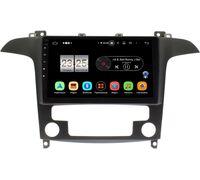 Ford S-MAX 2006-2015 (с климат-контролем) LeTrun PX409-9486 на Android 10 (4/32, DSP, IPS, с голосовым ассистентом)