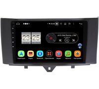 Smart Fortwo II 2011-2015 LeTrun PX409-9251 на Android 10 (4/32, DSP, IPS, с голосовым ассистентом)