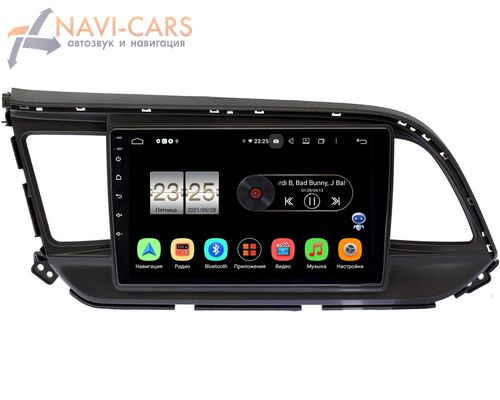 Hyundai Elantra VI (AD) 2018-2020 LeTrun PX409-9207 на Android 10 (4/32, DSP, IPS, с голосовым ассистентом)