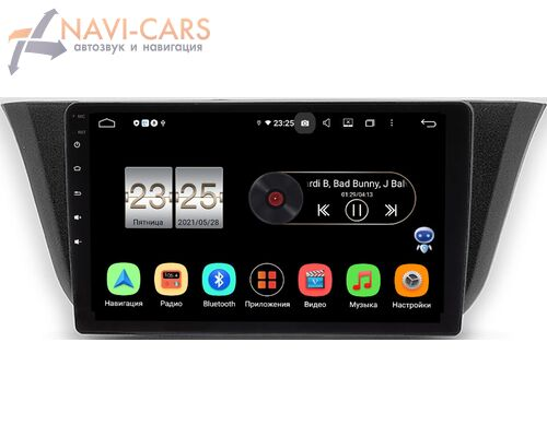 Iveco Daily (2014-2021) LeTrun PX409-9-744 на Android 10 (4/32, DSP, IPS, с голосовым ассистентом)