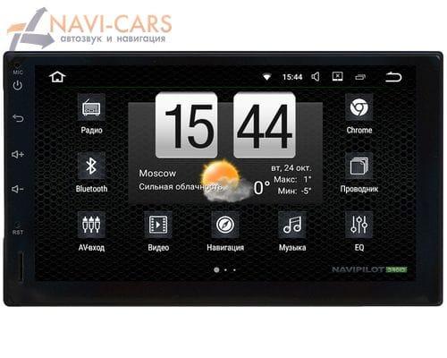 2 DIN NaviPilot DROID7 NPD7-CV-7271-07 на Android 7.1.2