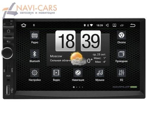 2 DIN NaviPilot DROID7 NPD7-CV-7272-07 на Android 7.1.2