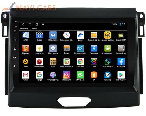 Parafar для Ford Ranger IV 2015-2020 на Android 9.0 (PF176XHD)