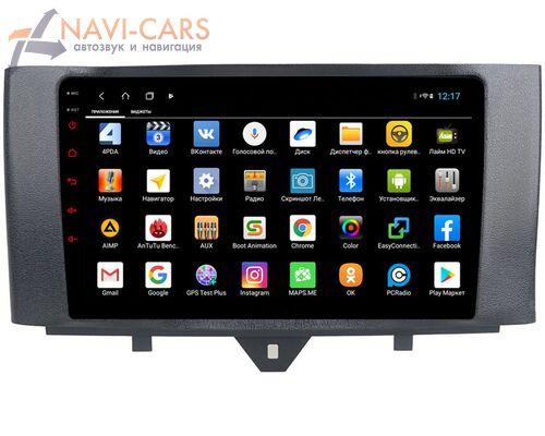 Parafar для Mercedes Smart Fortwo II 2007-2015 на Android 8.1.0 (PF215XHD)