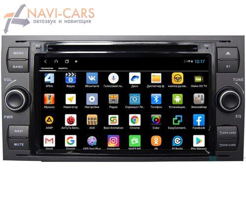 Parafar для Ford Focus, C-Max, S-Max, Fiesta, Fusion, Mondeo, Transit, Kuga на Android 9.0 (PF149XHDDVD)
