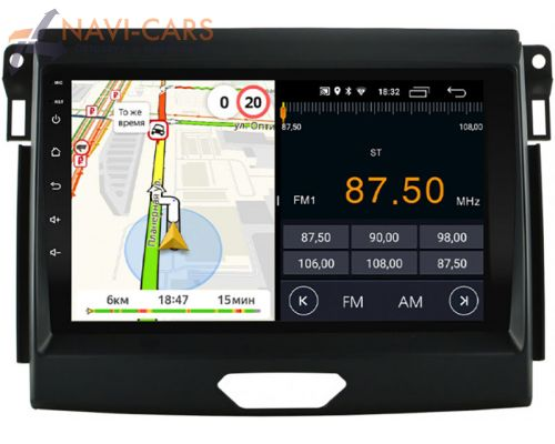 Parafar для Ford Ranger IV 2015-2020 на Android 8.1 (PF176LTX)