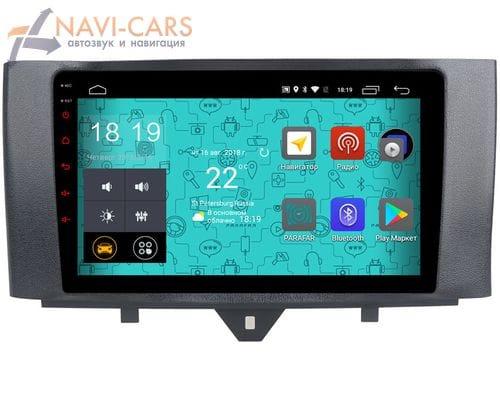 Parafar 4G/LTE для Mercedes Smart Fortwo II 2007-2015 на Android 7.1.1 (PF215)