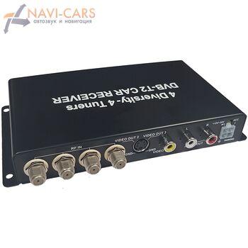 Parafar PF-T4 цифровой тюнер DVB-T2 (4 антенны)