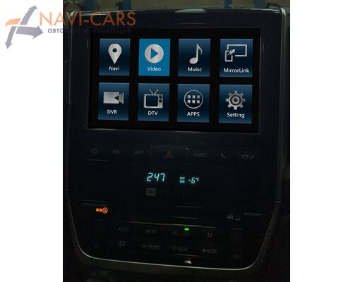 Radiola RDL-701 для Toyota Land Cruiser 200 2005-2009 Android 6.0
