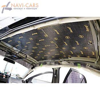 Шумоизоляция потолка автомобиля