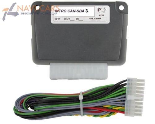 Адаптер руля для автомобилей Volkswagen с CAN-шиной и информационным дисплеем на приборной панели (белая подсветка)