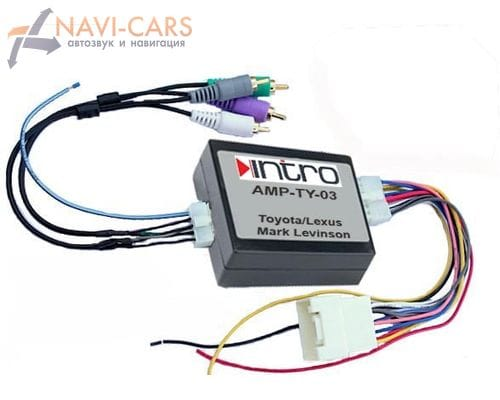Контроллер усилителя Intro AMP-TY03 для Lexus