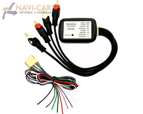 Контроллер усилителя Intro AMP-TY01 для Lexus