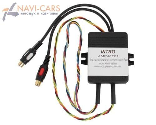Контроллер усилителя INCAR AMP-MT01 для Citroen