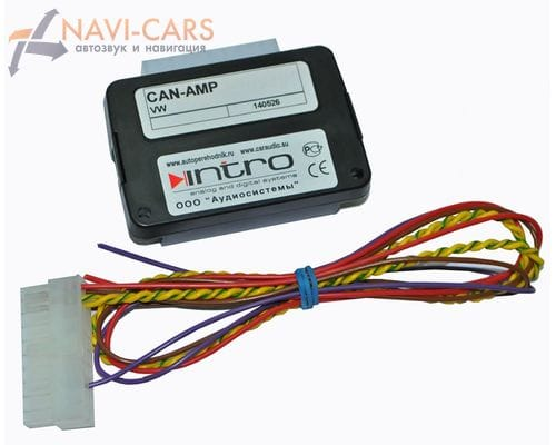 Контроллер усилителя INTRO CAN-AMP VW для Scoda